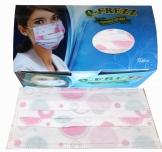 Q-frezz motif Dotty pink karet